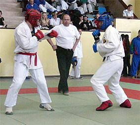 Соревнования армейский рукопашный бой