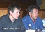 Организаторы соревнований Исаев И.И. и Ариевич Г.Э.