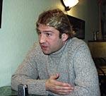 Дмитрий Стратан, капитан сборной команды ШТУРМ-2002